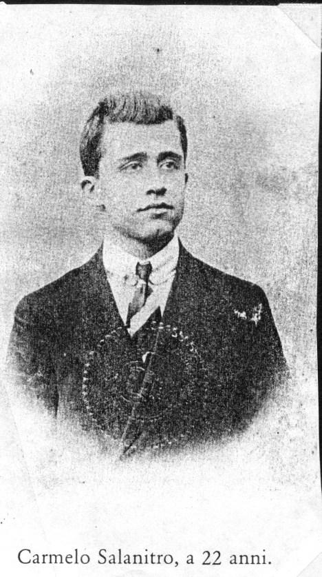 Carmelo Salanitro a 22 anni