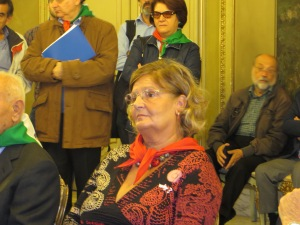 Presidente ANPI Catania Santina Sconza